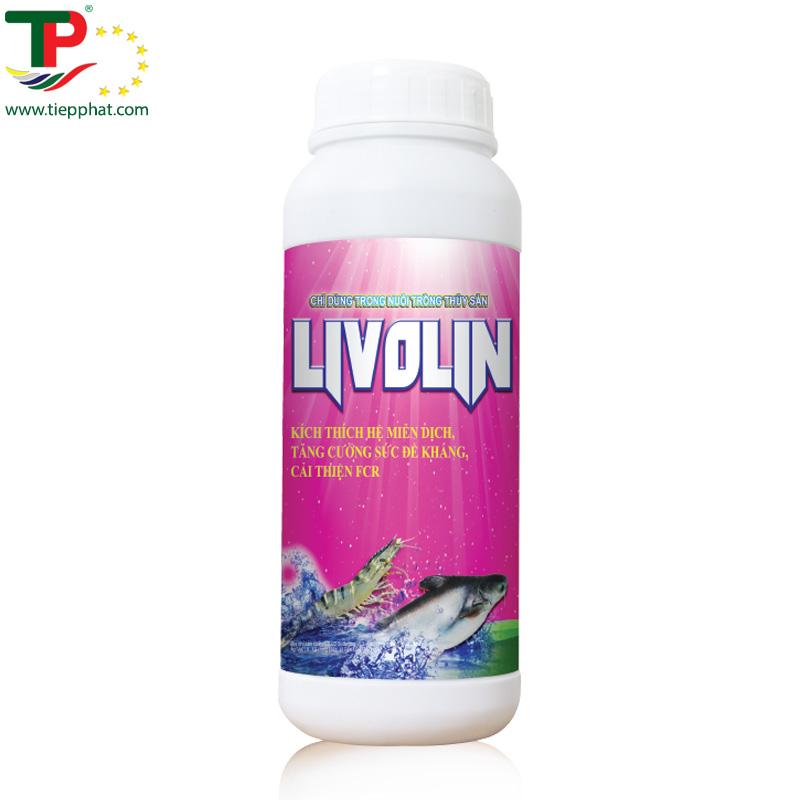 LIVOLIN là sản phẩm tăng cường hệ thống miễn dịch, giúp ếch tăng trọng nhanh.