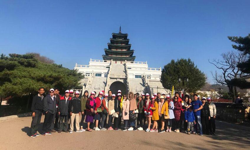 Tiệp Phát tổ chức chuyến du lịch Hàn Quốc cho Quý Khách Hàng và Đại Lý