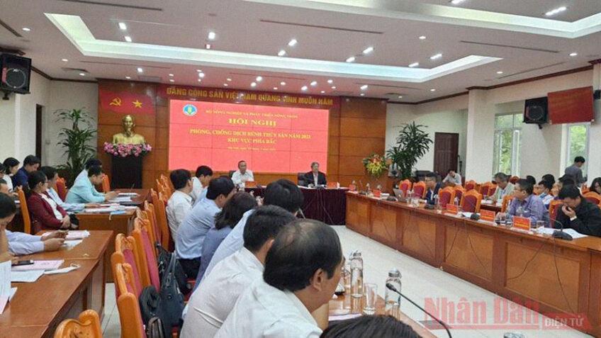 Hội nghị phòng, chống dịch bệnh Thủy Sản khu vực phía Bắc năm 2021